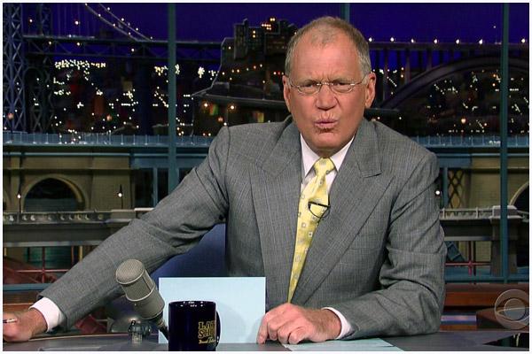 Letterman's Biggest Mug