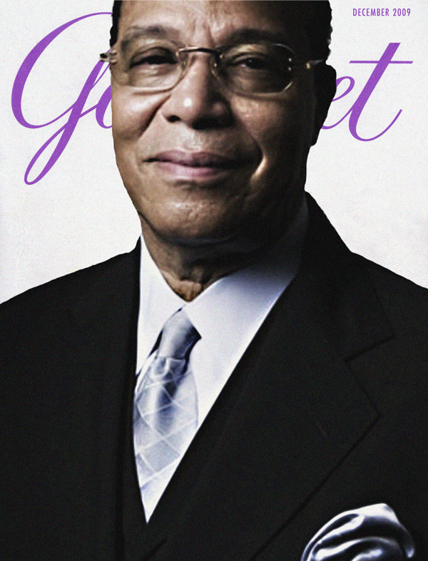 Louis Farrakhan Revives Gourmet Magazine