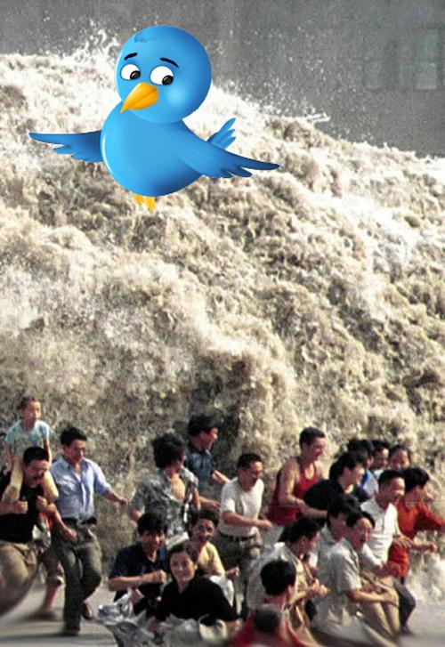 When Twitter was down...