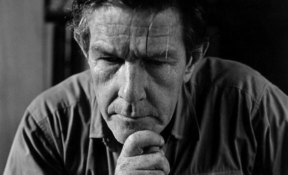 John Cage at the moment he realized nothing has ever happened