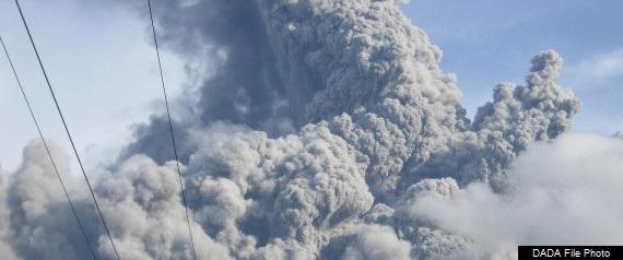 Volcano erupts in Philadelphia