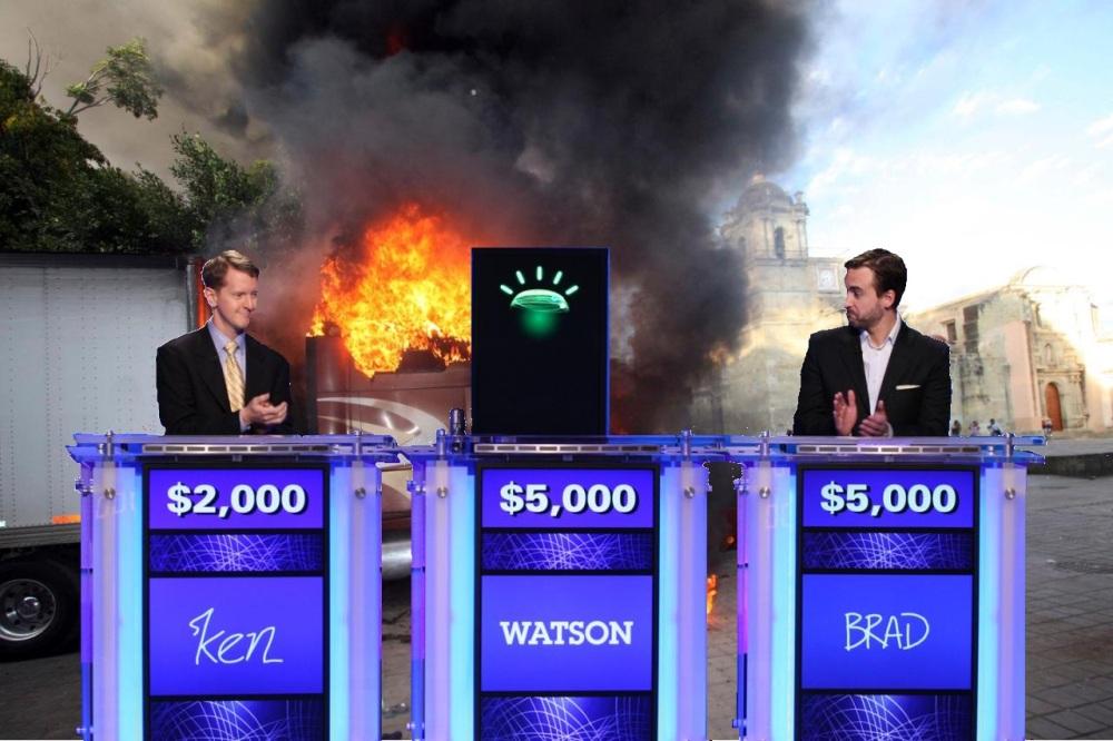 Watson Wreaks Havoc on Jeopardy