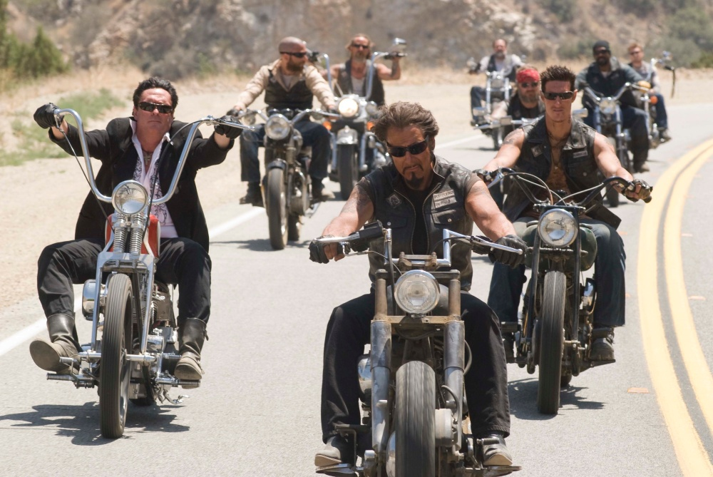 Armed motorcycle gang preparing to invade Iraq